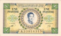 French Indochina 1 Piastre = 1 Dong, (1952)