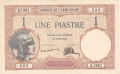 French Indochina 1 Piastre, (1923-26)