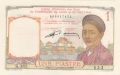 French Indochina 1 Piastre, (1953)