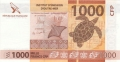 French Pacific Territories 1000 Francs, (2013)
