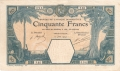 French West Africa 50 Francs, 12. 6.1924
