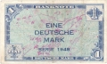 German Federal Republic 1 Deutsche Mark, 1948