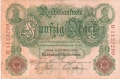Germany 1 50 Mark, 10. 3.1906