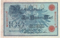 Germany 1 100 Mark,  7. 2.1908