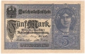 Germany 1 5 Mark,  1. 8.1917