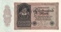 Germany 1 5000 Mark, 19.11.1922