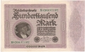 Germany 1 100,000 Mark,  1. 2.1923
