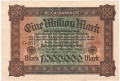 Germany 1 1,000,000 Mark, 20. 2.1923