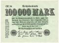 Germany 1 100,000 Mark, 25. 7.1923
