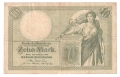 Germany 1 10 Mark,  6.10.1906