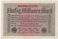 Germany 2 50 Million Mark,  1. 9.1923