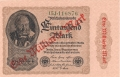 Germany 2 1 Milliarde Mark, 1923