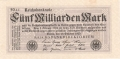 Germany 2 5 Milliarden Mark, 20.10.1923