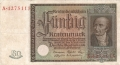 Germany 2 50 Rentenmark,  6. 7.1934