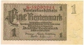 Germany 2 1 Rentenmark, 30. 1.1937