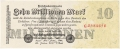 Germany 2 10 Million Mark, 25. 7.1923