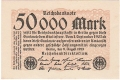 Germany 2 50,000 Mark,  9. 8.1923