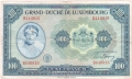 Luxembourg 100 Francs, (1944)