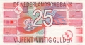 Netherlands 25 Gulden,  5. 4.1989
