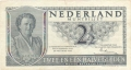Netherlands 2 1/2 Gulden,  8. 8.1949