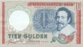 Netherlands 10 Gulden, 23. 3.1953