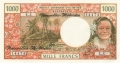 New Hebrides 1000 Francs, (1975)