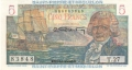 Saint Pierre And Miquelon 5 Francs, (1950-60)