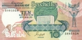 Seychelles 10 Rupees, (1989)