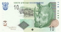 South Africa 10 Rand, 2005