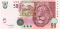 South Africa 50 Rand, 2005