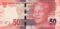 South Africa 50 Rand, (2012)