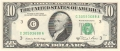 United States Of America 10 Dollars, Series 1981A