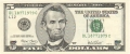 United States Of America 5 Dollars, Series 2003A