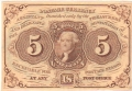 United States Of America 5 Dollars,  6. 8.1838