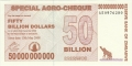 Zimbabwe-1 50 billion Dollars, 15. 5.2008