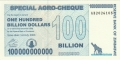 Zimbabwe-1 100 billion Dollars,  1. 7.2008