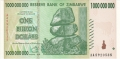 Zimbabwe-1 1 billion Dollars, 2008